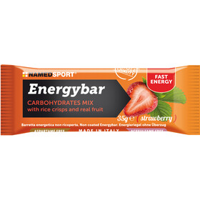 NAMEDSPORT Energy Bar Box 12x35g, Strawberry